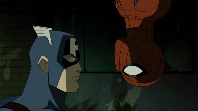 File:Captian America & Spider-Man AEMH 3.png