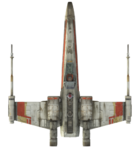 X-Wing Top View