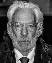 Donald Sutherland at the Hunger Games Mockingjay London Premiere