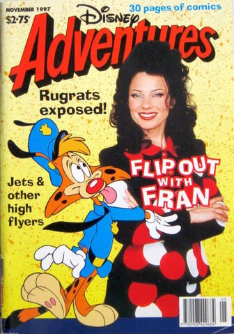 File:Disney Adventures Magazine australian cover November 1997 Fran Dreschner.jpg