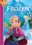 Frozen wonderful world of reading early moments