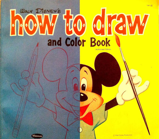 File:Walt Disney's How to Draw and Color Book.jpg