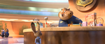 Zootopia meet Clawhauser