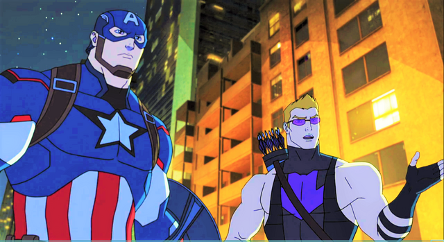 File:Captain America and Hawkeye AUR 1.png