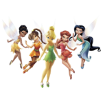 Disney fairies render