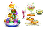 Miles from Tomorrowland food concept