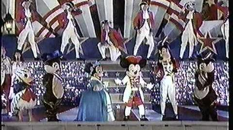 Disney World Shows 4th July Spectacular 1990 Part 2 with Regis and Kathy Lee
