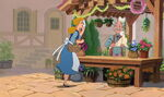 Cinderella with invitations
