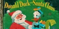 Donald Duck and Santa Claus