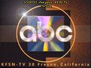 KFSN-TV Channel 30 It Must Be ABC 1992