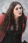 Scarlet Witch On Set
