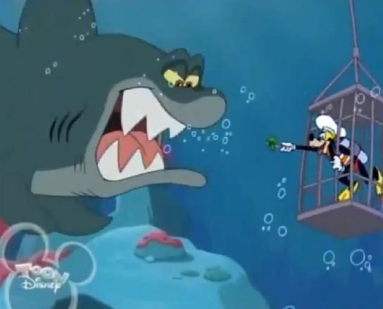 Fish N Chips Cartoon Characters : Image shark feeding g disney wiki fandom powered
