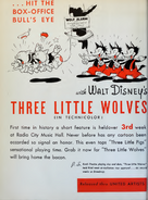 DISNEY WOLVES 1936 JUNE