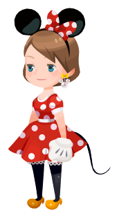 File:Minnie Mouse Costume Kingdom Hearts χ.png