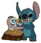 Disney Shopping.com - Aloha Stitch Set of 6 Pins (Stitch & Duckling Only)