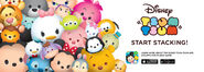 Disney Tsum Tsum Start Stacking Promotional Image