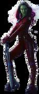 Gamora Gotg Render