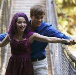 Mal and Ben Crossing a Bridge