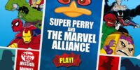 Phineas and Ferb - Super Perry and The Marvel Alliance