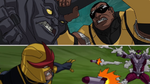 Power Man vs Rhino & Nova vs Beetle