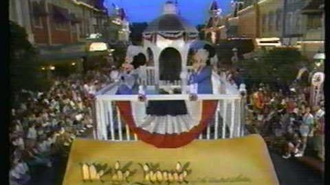 Disney World Parades All American Parade 1989 Part 1
