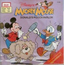 Donald's Pooch Parlor Disney Read-Along