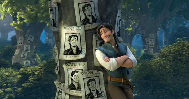 File:Flynn Rider and Wanted Posters.jpg