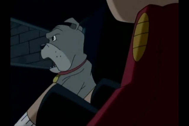 File:Fu Dog Tells Jake They Have To Duck and Cover Until Lao Shi Gets Back.PNG