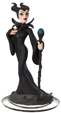 File:Maleficent Disney Infinity Transparent Figurine.png
