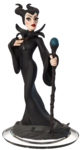 Maleficent Disney Infinity Transparent Figurine