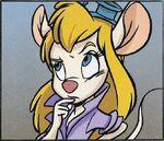 Gadget in the 2010 CnDRR comic