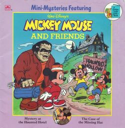 Mini-mysteries featuring mickey mouse and friends
