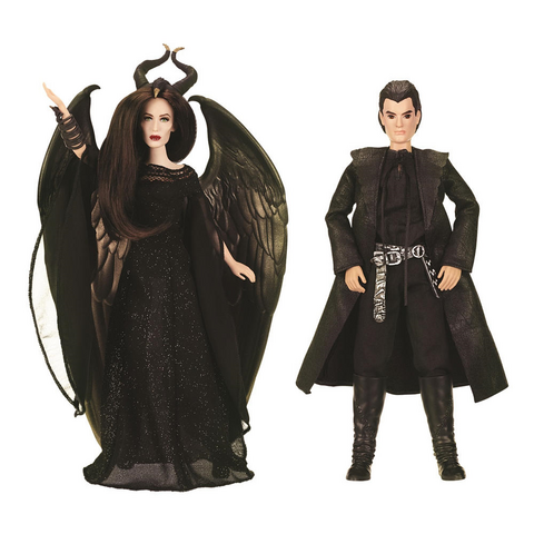 File:Royal Coronation Maleficent and Diaval Dolls.png