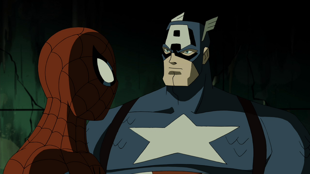 File:Captian America & Spider-Man AEMH 2.png