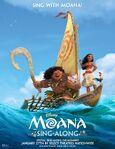 Moana Sing a Long Poster
