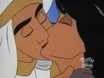 Aladdin & Jasmine Kiss - SandSwitch