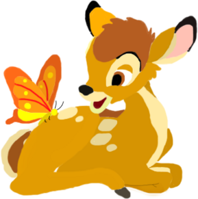 Bambi toystoryfan artwork