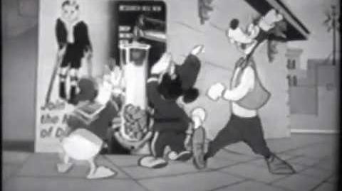 1954 March of Dimes Comercial de Walt Disney 1
