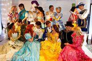 Disney princess and princes real life couples