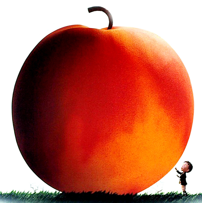 transforming james and the giant peach James and the giant peach an orphan with terrible aunts for guardians, befriends human like bugs who live inside a a gigantic peach, who take the boy on a journey to new york city.