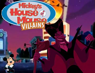 Mickey's House of Villains Jafar Mickey Poster
