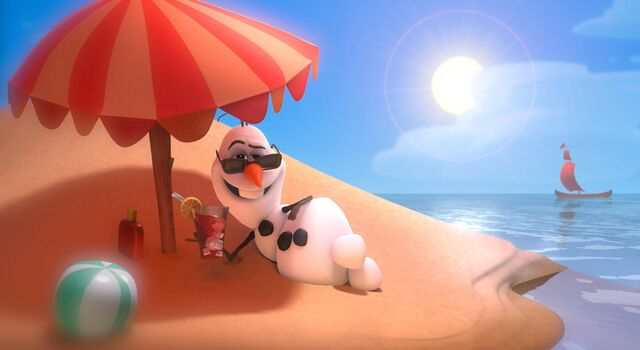 """File:Olaf The Snowman debuts sizzling new music video -- """"In Summer"""" -- Official HD-0.jpeg"""