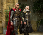Thor The Dark World Thor and Odin
