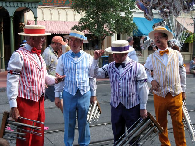 File:BarbershopQuartet Disneyworld.jpg