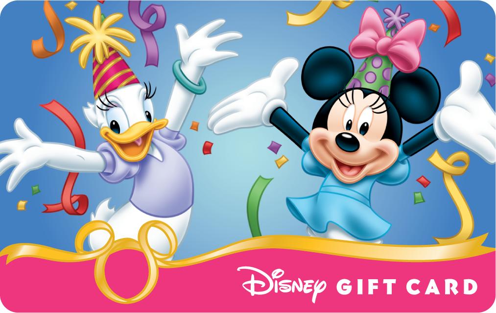 Image - Daisy and Minnie Happy Birthday Disney Gift Card ...