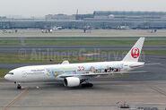 JAL-Japan Airlines 777-200 JA8985 (13-Tokyo Disney Resort)(Grd) HND (SGS)(46)-S