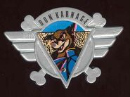 Don Karnage Pin