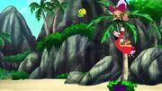SkullHook&Monkey-Pirate-Sitting Pirates