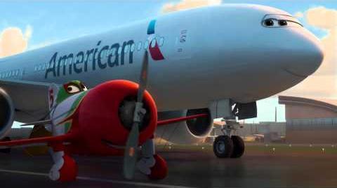 Tripp Disney Planes American Airline