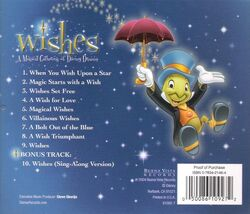 Wishes back cover